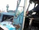 Покатушки на Т-150К 2 Заводим трактор