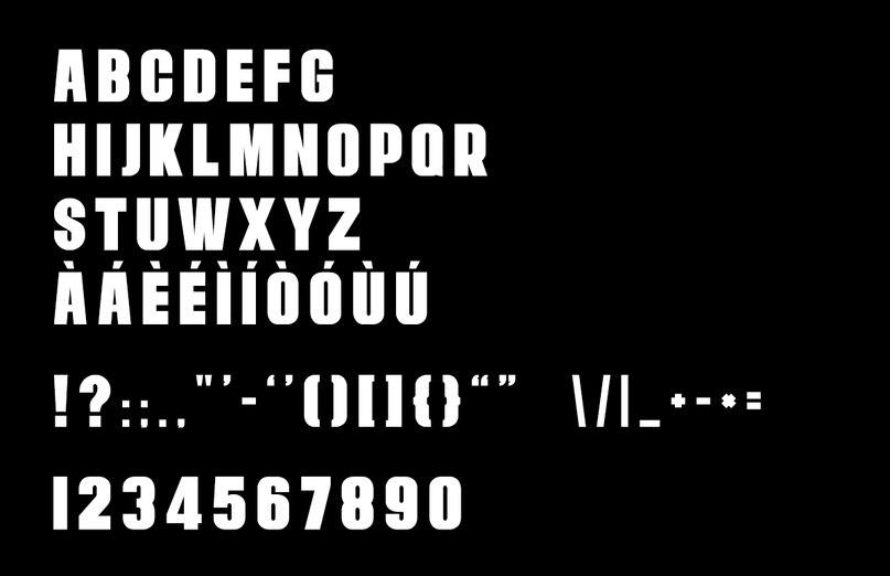 PACTIM шрифт скачать бесплатно