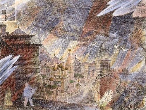 Город глазами художника Мидова Николая Павловича.