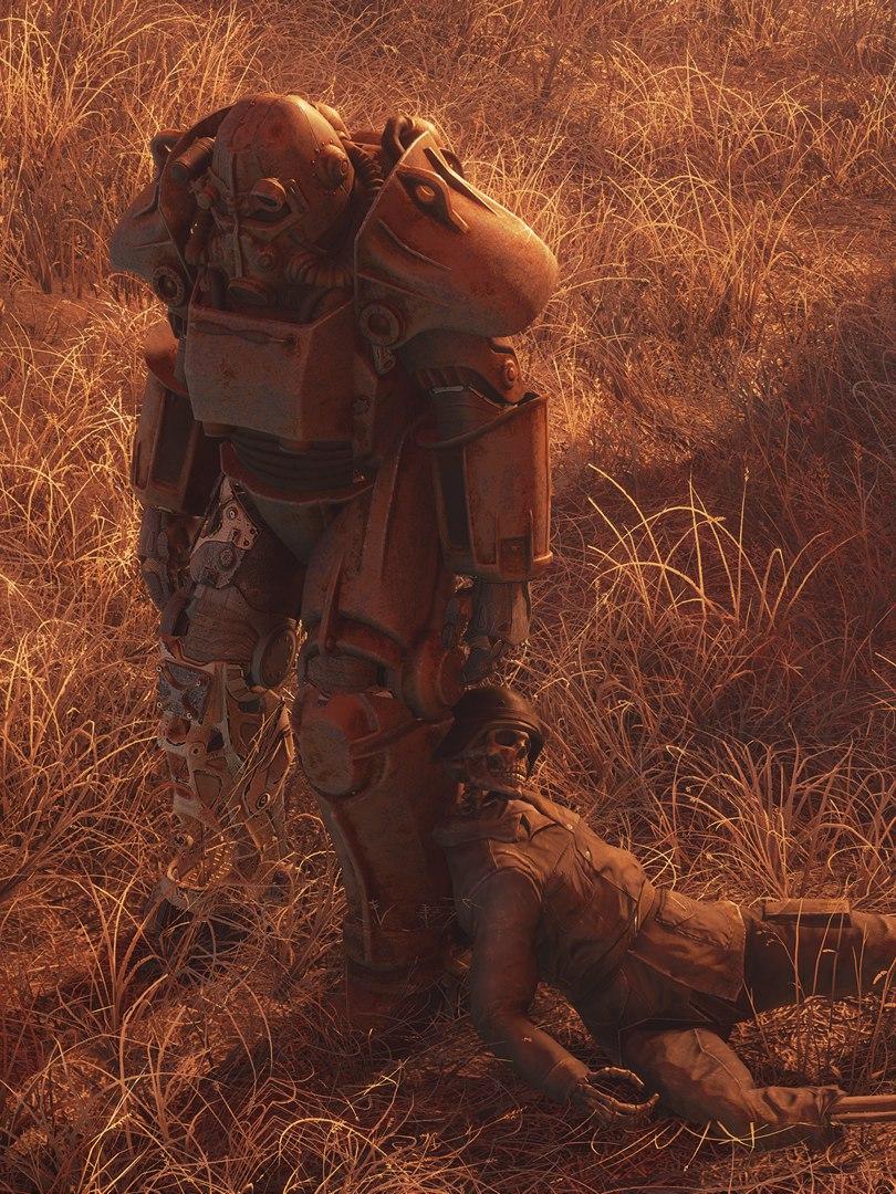 Как часто вы используйте силовую броню в Fallout4