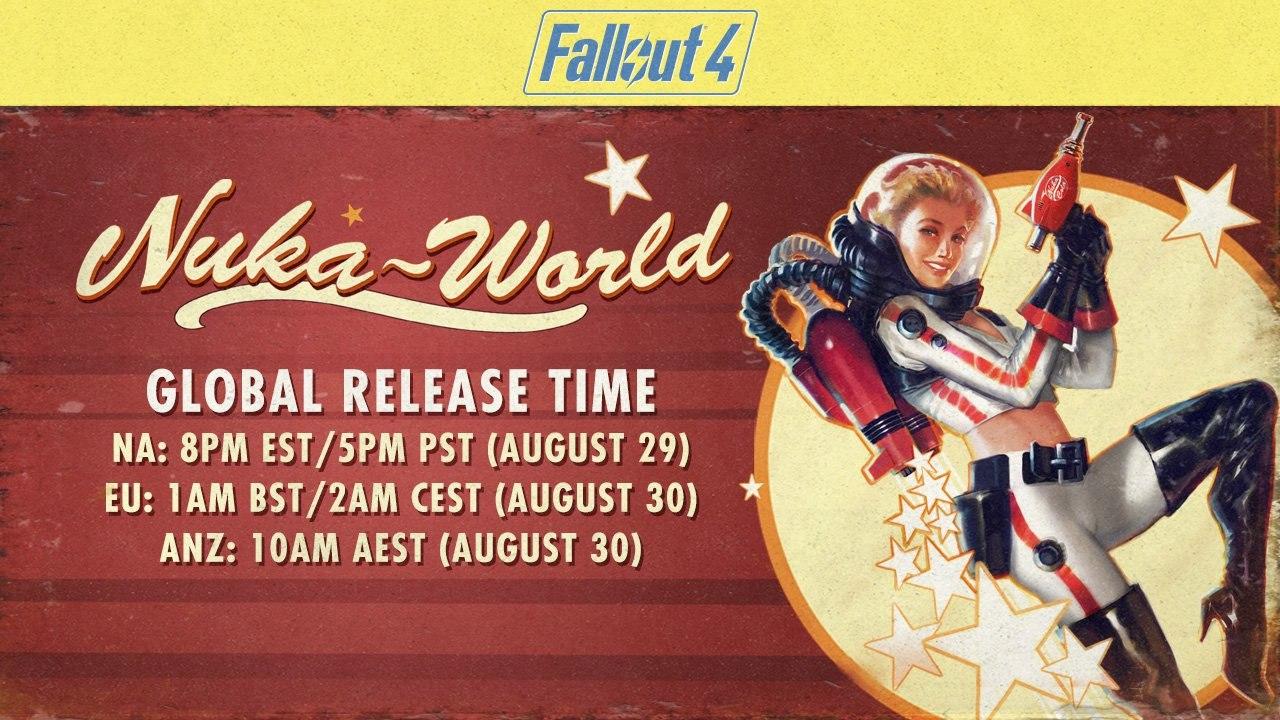 Уже завтра станет доступным последнее DLC Nuka-World Fallout4