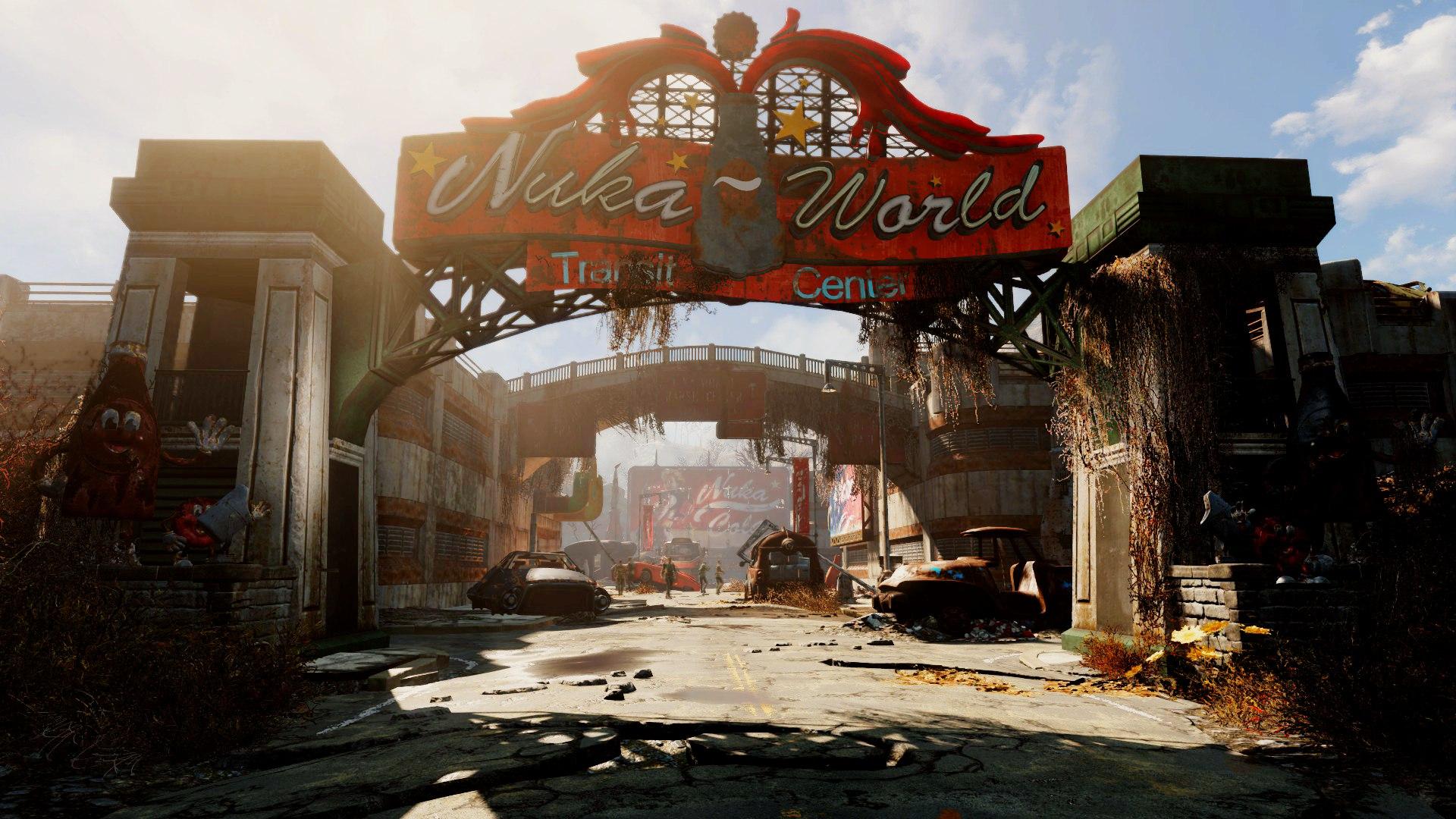 У вас должен быть 30-й уровень для того, чтобы начать Fallout4 Nuka-World