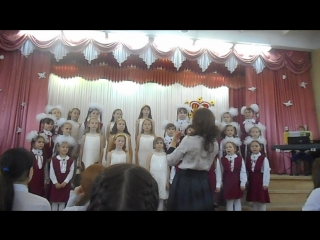 Выступление младшего хора в г.Елабуга. Песня