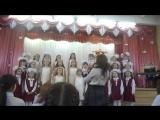 Выступление младшего хора в г.Елабуга. Песня Дождик, исполняется акапелло.