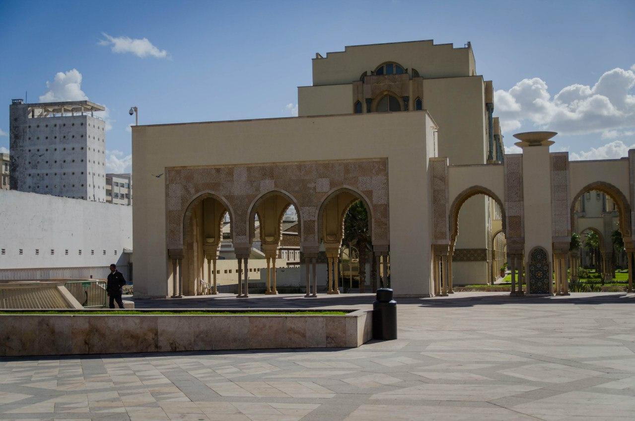 Мечеть Хассана 2 в касабланке