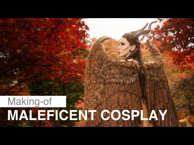 Maleficent Cosplay – Making of