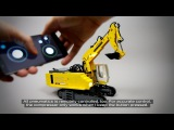 Lego Technic RC Liebherr R974 Pneumatic Excavator
