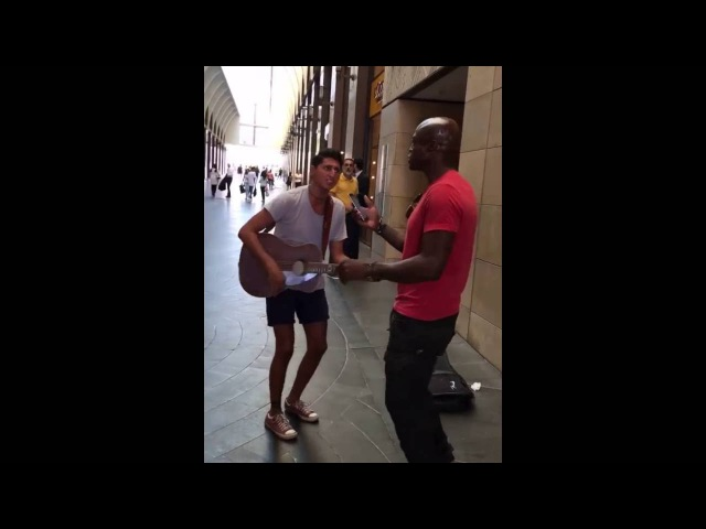 Singer Seal found another street talent on the streets of Beirut for a duet