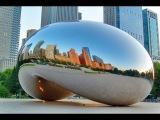 Восьмое чудо света! Чикаго (США), Клауд Гейт. Cloud Gate, Chicago.