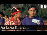 Aaja Aa Khelen Khel - Govinda - Kimi Katkar - Jaisi Karni Vaisi Bharni - Rajesh Roshan - Hindi Song