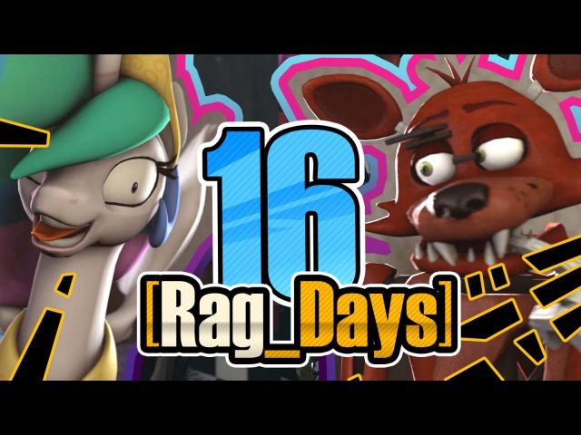 [Rag_Days] 16 - Вперед в прошлое (five nights at freddy's mlp rag days)