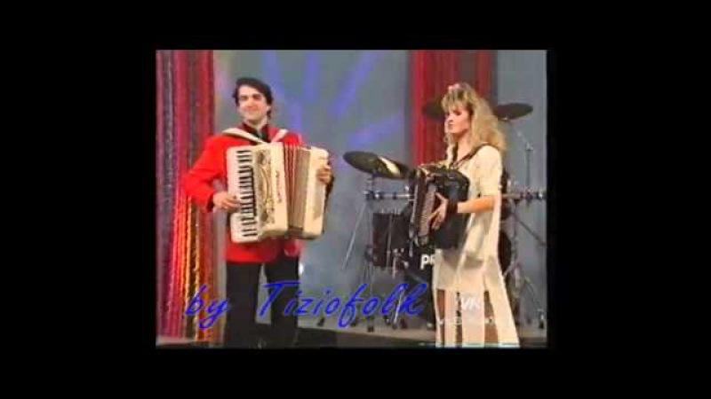COME UNA FAVOLA valzer di Barbara LUCCHI e MASSIMO VENTURI Allo show di RENZO E LUANA Attenti a quei due del 07 marzo 1994