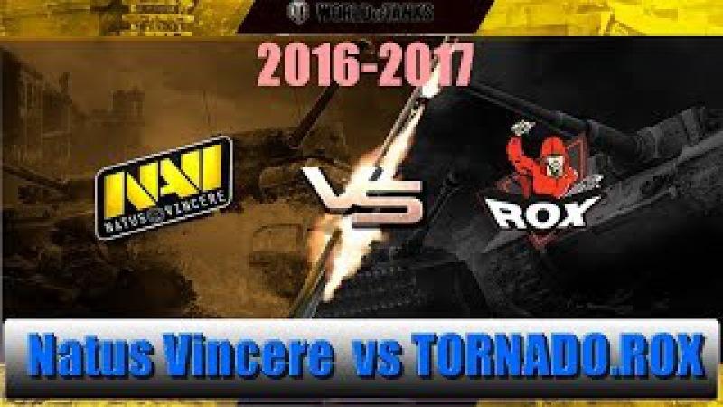 Natus Vincere vs TORNADO.ROX ! Gold Series WGL RU 2016/17 day 1 week 5