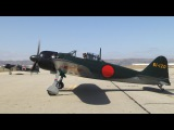 Pearl Harbor flight featuring the PoF Mitsubishi A6M5 Zero