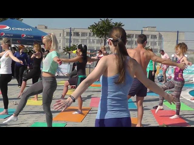 Пилатес со Светланой Бирючинской во 2-м фитнес-туре СК ТОНУС 2016