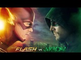 The Flash vs. Arrow Soundtrack - The Man in the Yellow Suit