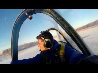 Кабина открылась во время полета. Высший пилотаж на Як 52