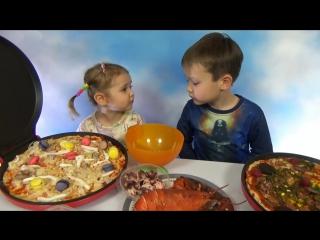 Пицца челлендж с омаром и мясом лося от Макса и Кати Pizza Challenge Mister Max