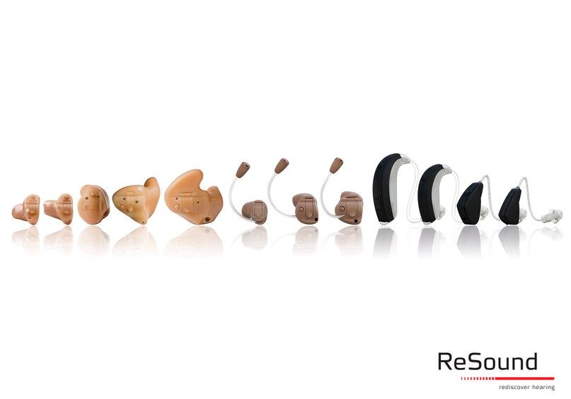ReSound Alera™ – современные слуховые аппараты с беспроводной технологией и множеством опций, максимально незаметные и комфортные в использовании