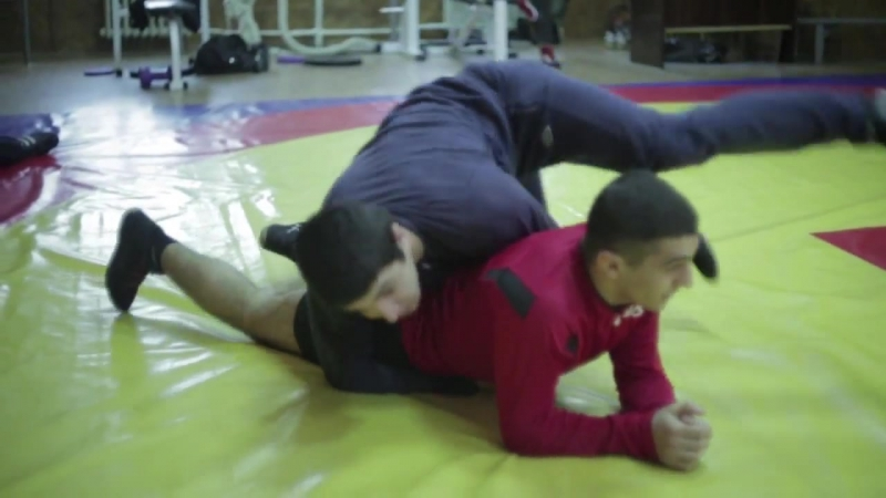 Тренировка по греко-римской борьбе Training in Greco- Roman wrestling