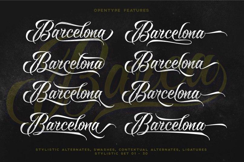 Download raven-script font (typeface)