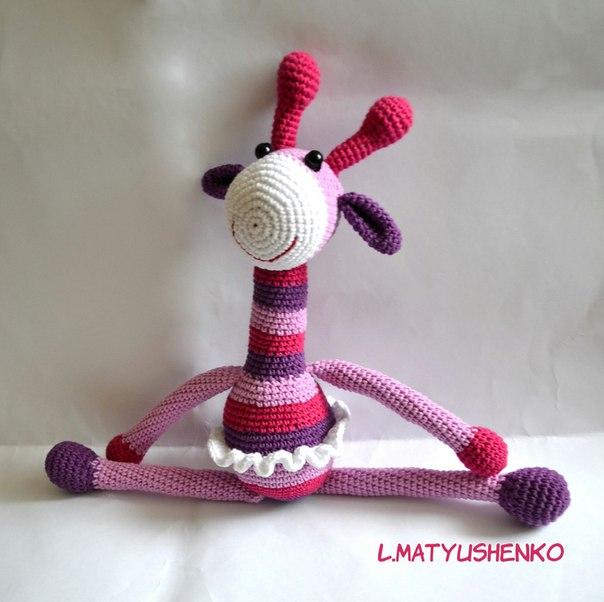 Жирафка-балерина