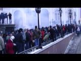 Беспорядки фанатов на Манежная площади + Драка в Метро (11.12.2010.)