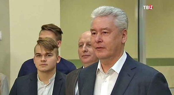 Собянин открыл школу-новостройку в районе Северный
