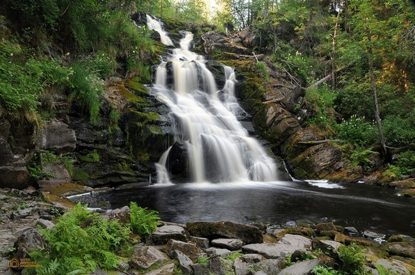 Прекрасные водопады Ленобласти и Карелии