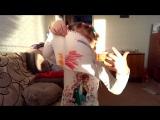 Тася, мама, папа - все по-важности, но танцуют всместе! =) (2016-04)