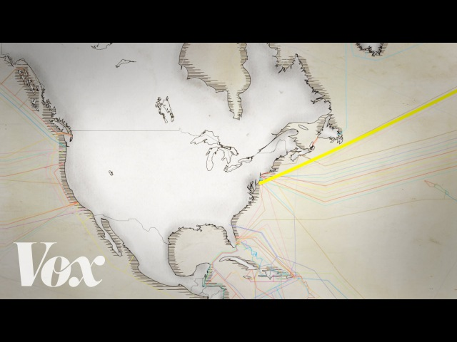 Thin underwater cables hold the internet. See a map of them all.