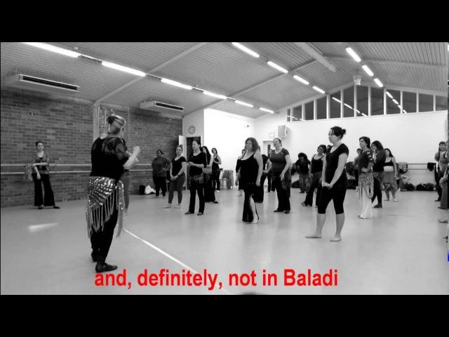 Joana Saahirah in New Zealand - Baladi Warm Up and Workshop