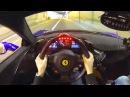 Insane POV Ferrari 458 Speciale w Straight Pipes and R3 Wheels