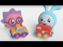 Малышарики - Машинка 12 серия Развивающие мультфильмы для самых маленьких 1,2,3,4...