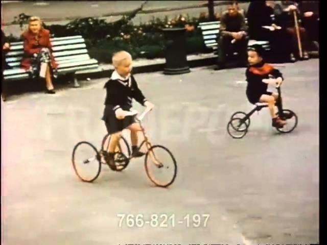 Архивное видео Киев 1956 года