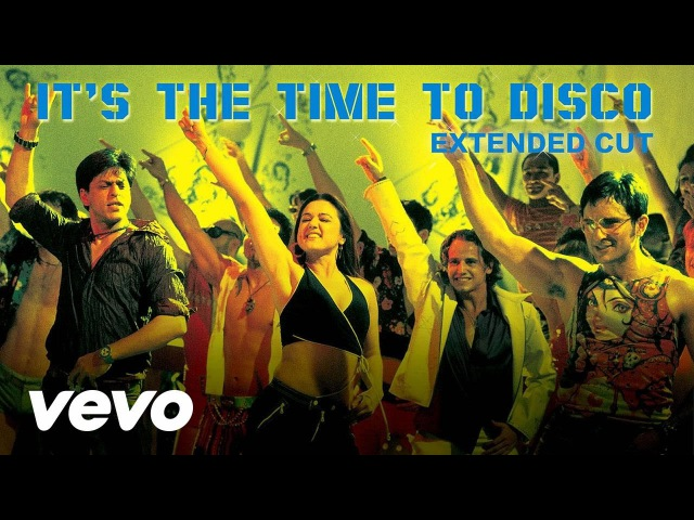Kal Ho Naa Ho - It's the Time to Disco Video | Shahrukh Khan