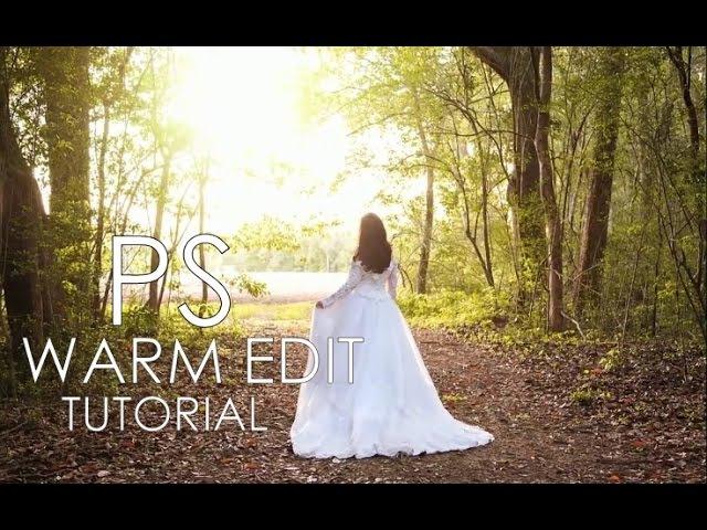 Pro Warm Edit | Sun Light Effect | PHOTOSHOP TUTORIAL