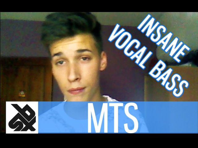 MTS | INSANE VOCAL BASS (You Won't Believe What You Hear)