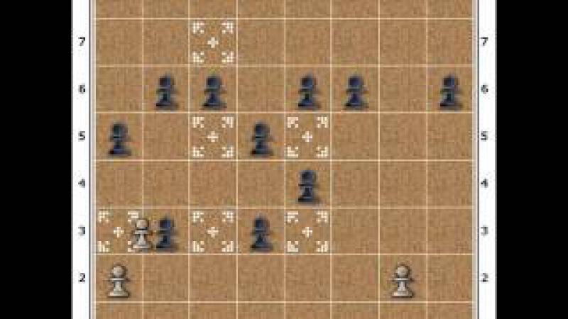 Sekiz hamleli oyun. No- 91_ 100.