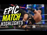 WWE 2K16 Wrestlemania 32 Roman Reigns vs. Triple H | Epic Match Highlights!