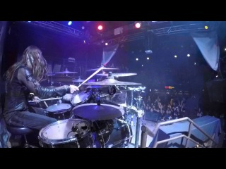 Carach Angren - Namtar drums - Bloodstains on the captain's log live at DNA LOUNGE, San Francisco