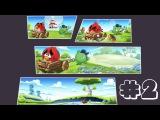 Angry Birds Go! Мультик ИГРА для детей про ПТИЧЕК #2   Seedway, В ПОГОНЕ за Semi Skimmer! Злые Птичк