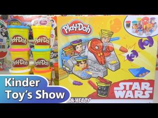 Пластилин Плей До Звёздные войны Тысячелетний сокол (Play Doh Star Wars Millennium Falcon)