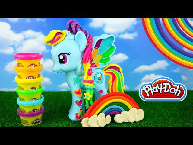 Play Doh Рейнбоу Деш из мультика Мой маленький пони Rainbow Dash My Little Pony. - 650р.