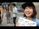 Японки обнимают незнакомцев. Интервью. free hugs