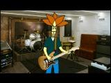 Френк презентует «Хреновую жизнь» группе на студии у Володьки Воочию