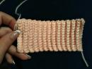 Как связать резинку крючком How to crochet elastic