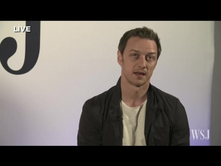 Actor James McAvoy Takes WSJ Inside
