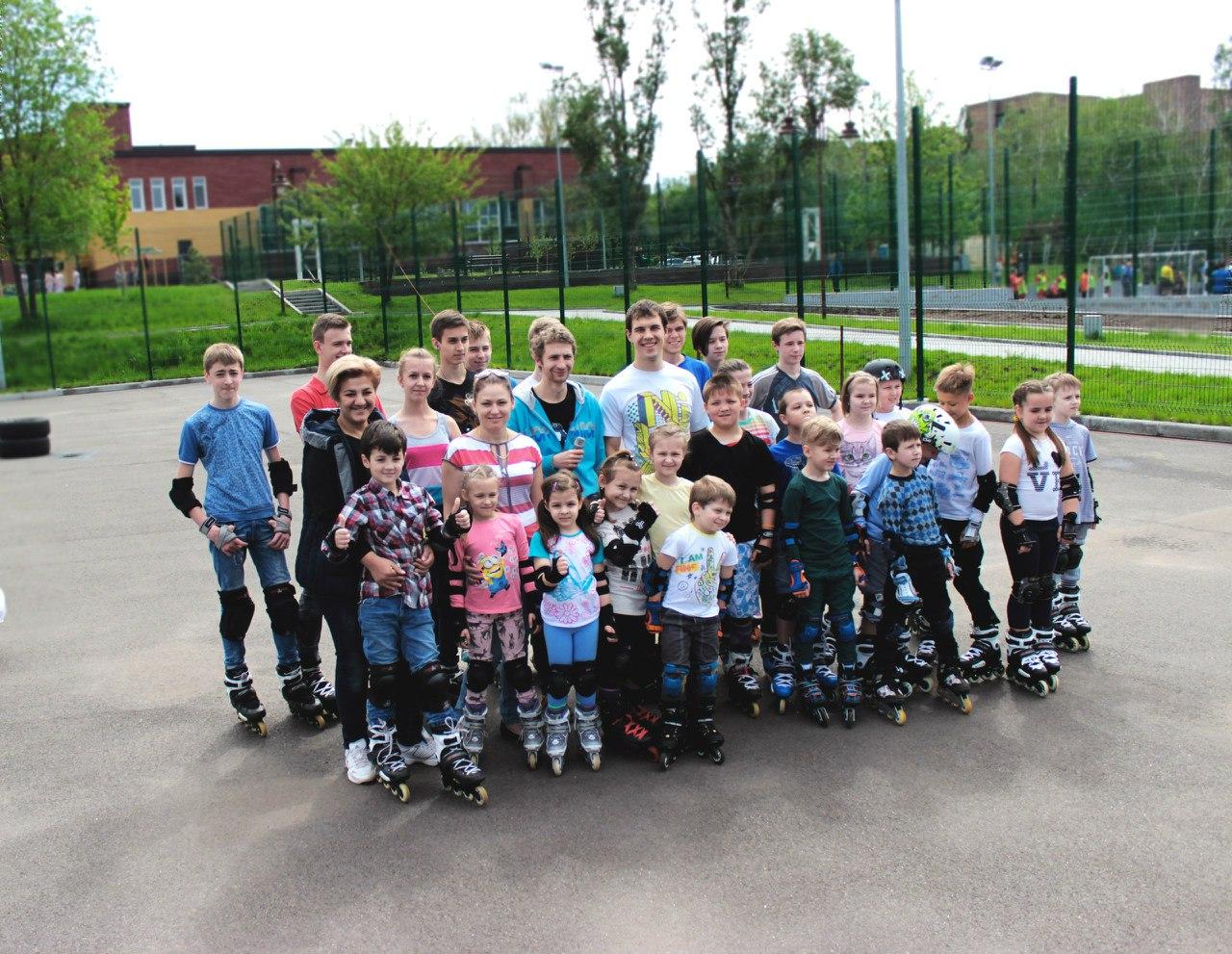 Детские соревнования по роллер спорту 9.05.16