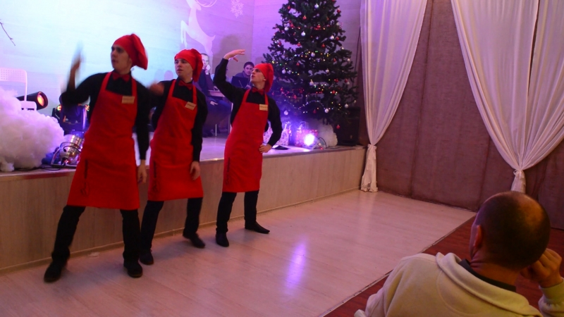 Новогодний танцевальный флешмоб от
